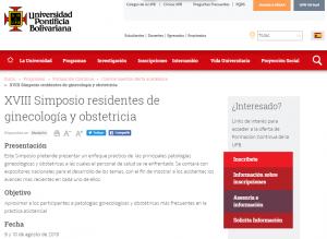 Endogine - XVIII Simposio residentes UPB ginecologia y obstetricia