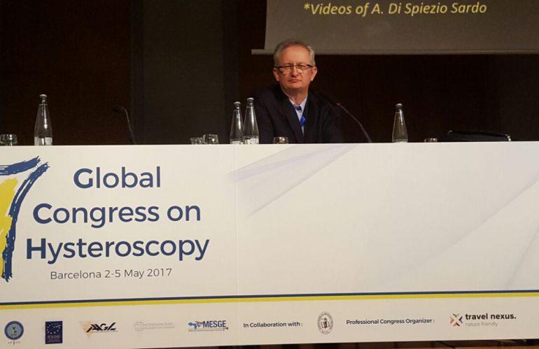 Congreso global histeroscopia – Barcelona – Mayo 2017