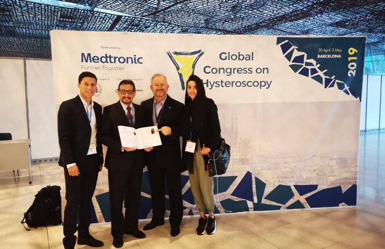 Congreso global histeroscopia – Barcelona – Mayo 2019